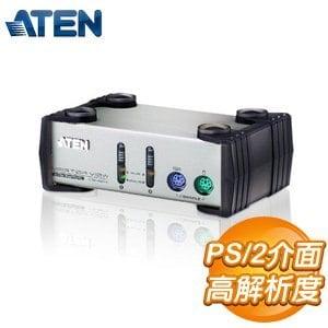 ATEN KVM 1:2P鐵含線 4埠HDMI KVMP多電腦切換器 (CS82A)