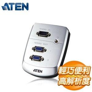 ATEN 2埠 VGA螢幕分配器 (VS82)