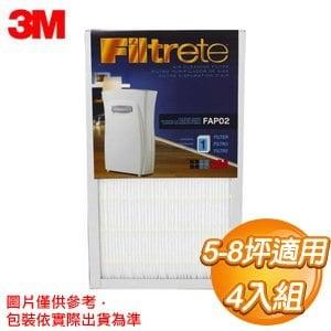 3M 超濾淨型空氣清靜機-專用濾網 (5坪/8坪)《四入組》