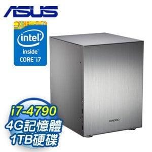 華碩 H81 平台【羅剎滅業】Intel Core i7-4790 4G 1TB 多工高效能電腦