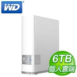 WD 威騰 6TB My Cloud NAS 網路儲存伺服器