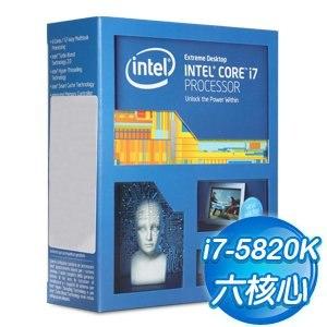 Intel Core i7-5820K 六核心處理器《3.3Ghz/LGA2011》(代理商貨)
