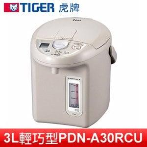TIGER 虎牌 3L 超大按鈕電熱水瓶 (PDN-A30RCU)