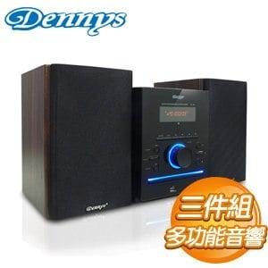 Dennys 音樂黑精靈USB/FM/DVD音響 (MD-380)