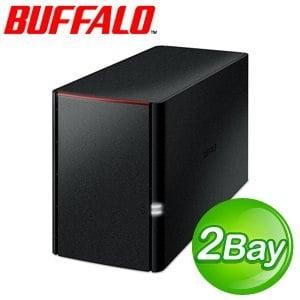 Buffalo 巴比祿 LS220DE 2Bay NAS 網路儲存伺服器