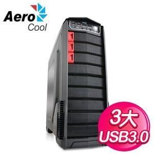AeroCool GT-A USB3.0 3大 電腦機殼《黑》