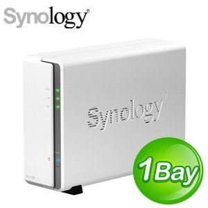 Synology 群暉 DiskStation DS115J 1Bay NAS 網路儲存伺服器