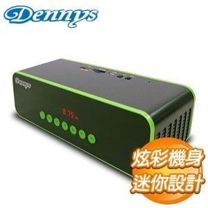 Dennys USB 讀卡炫彩音響喇叭~黑~U~5020B