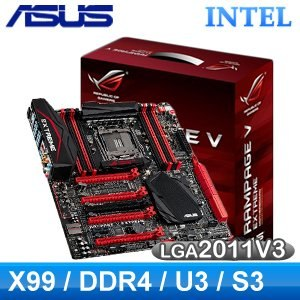 ASUS 華碩 Rampage V Extreme LGA2011V3 主機板《原廠五年保固》