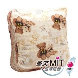 【微笑MIT】Vega 唯家-奈米遠紅外線兒童睡袋(米白小熊款)