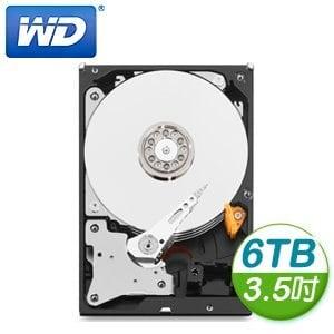WD 威騰 Purple 6TB 3.5吋 5400轉 64M快取 SATA3紫標硬碟(WD60PURX)