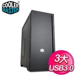 Cooler Master 酷碼 Silencio 652 USB 3.0 3大 靜音機殼《黑》
