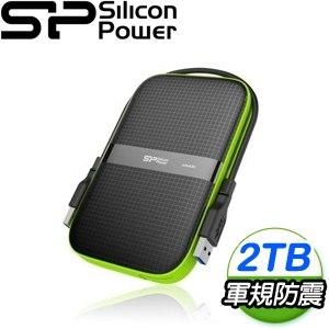 Silicon Power 廣穎 Armor A60 2TB 2.5 吋 USB3.1 外接硬碟