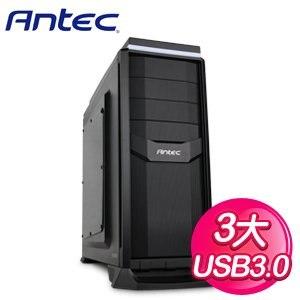 Antec 安鈦克 GX300 暗夜戰警 USB3 黑3大(透側) 電腦機殼