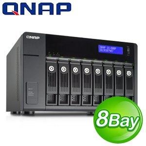 QNAP 威聯通 UX-800P Turbo NAS 擴充櫃