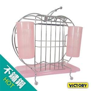 【VICTORY】蘋果型多功能廚具架/刀具/粘板/筷子