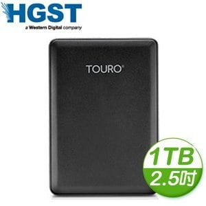 HGST Touro Mobile Reflash 1TB 2.5吋 USB3.0 超薄外接式硬碟