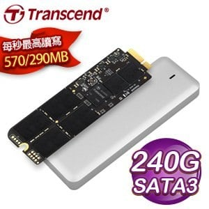 Transcend 創見 JetDrive 720 240G SATA3 SSD固態硬碟