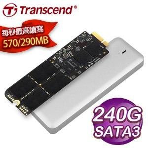 Transcend 創見 JetDrive 725 240G SATA3 SSD固態硬碟