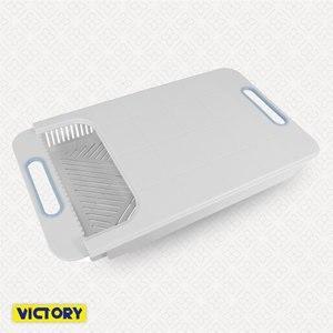 【VICTORY】伸縮式/調理/砧板/碗盤架/瀝水架