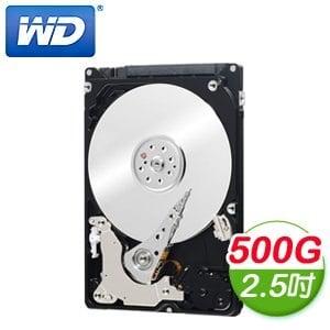 WD 威騰 Black 500G 2.5吋 7200轉 32M快取 SATA3黑標硬碟(WD5000LPLX)