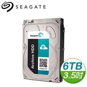 Seagate 希捷 6TB 3.5吋 5900轉 128M快取 海量BT硬碟 (ST6000AS0002)