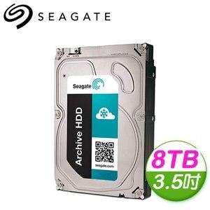 Seagate 希捷 8TB 3.5吋 5900轉 128M快取 海量BT硬碟 (ST8000AS0002)