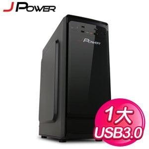 J-POWER 杰強【黑旋風II/USB3.0 】一大電競機殼《黑》