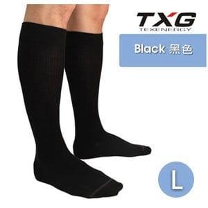【TXG】男用紳士減壓襪-基礎型 8152334(黑/L)