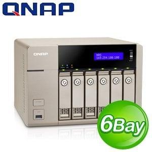 QNAP 威聯通 TVS-663 Turbo NAS 網路儲存伺服器