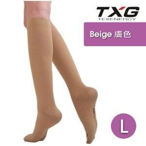 【TXG】女用舒柔減壓襪-基礎型 7252233 膚 L