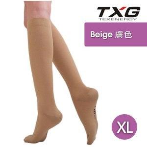 【TXG】女用舒柔減壓襪-基礎型 7252234 膚 XL