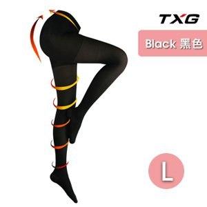 【TXG】蕾絲調整大腿襪-進階型 9363244(黑/L)