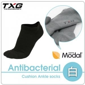 ~TXG~長效性抗菌除臭氣墊踝襪 A6421119^(白 23~27cm^)