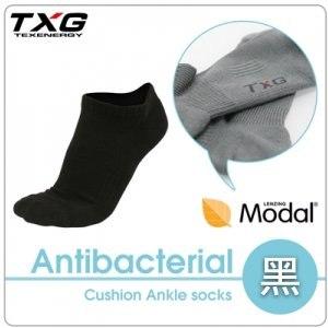 【TXG】長效性抗菌除臭氣墊踝襪 A6421319(黑/23-27cm)