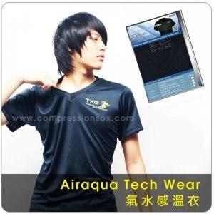 【TXG】科技氣水體感衣(黑)(S/M/L/XL)