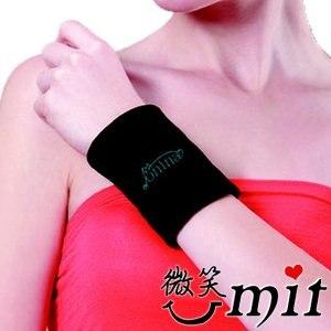 【微笑MIT】Dr.Free/莫妮娜-運動保健護腕 A001(黑/2入)