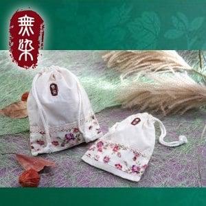 洽維無染惜福薔薇大束口袋(16x22cm)