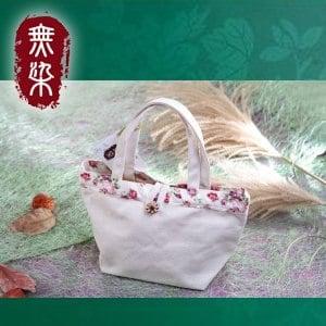 洽維無染惜福薔薇手提袋(28x19x11.5cm)