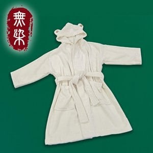 洽維無染經典浴袍(小孩款)