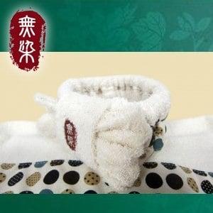 洽維無染惜福普普風頭帶-咖啡(18x8cm)