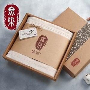 洽維無染經典毛巾禮盒(浴巾x1)