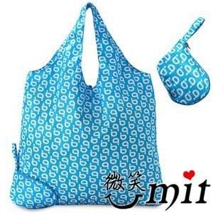 【微笑MIT】貝拉Bella/BAUUBAG-收納b購物袋 D120901BB(藍)