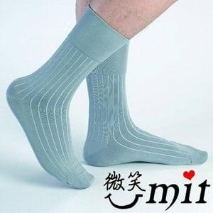 【微笑MIT】Dr.Free/莫妮娜-寬口無痕防臭紳士襪 LB01GY(灰)