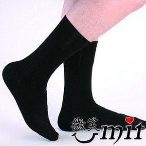 【微笑MIT】Dr.Free/莫妮娜-寬口無痕防臭紳士襪 LB01BK(黑)