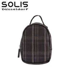 【SOLIS】多功能隨身掛包-經典魅力-黑底銀線 (OMQ07009)