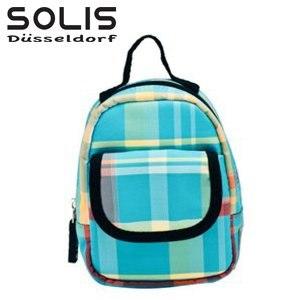 【SOLIS】多功能隨身掛包進化版-經典魅力-藍底紅黃線 (OMQ07309)