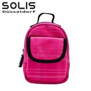 【SOLIS】多功能隨身掛包進化版-經典魅力-紅底銀線 (OMQ07305)
