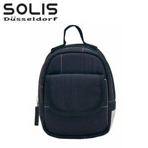 【SOLIS】多功能隨身掛包進化版-經典魅力-黑底白線 (OMQ07306)