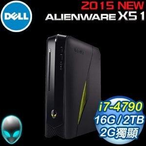 Alienware ALWX51R-4828TW 桌上型電腦